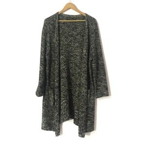 Grey and black lucky brand cardigan